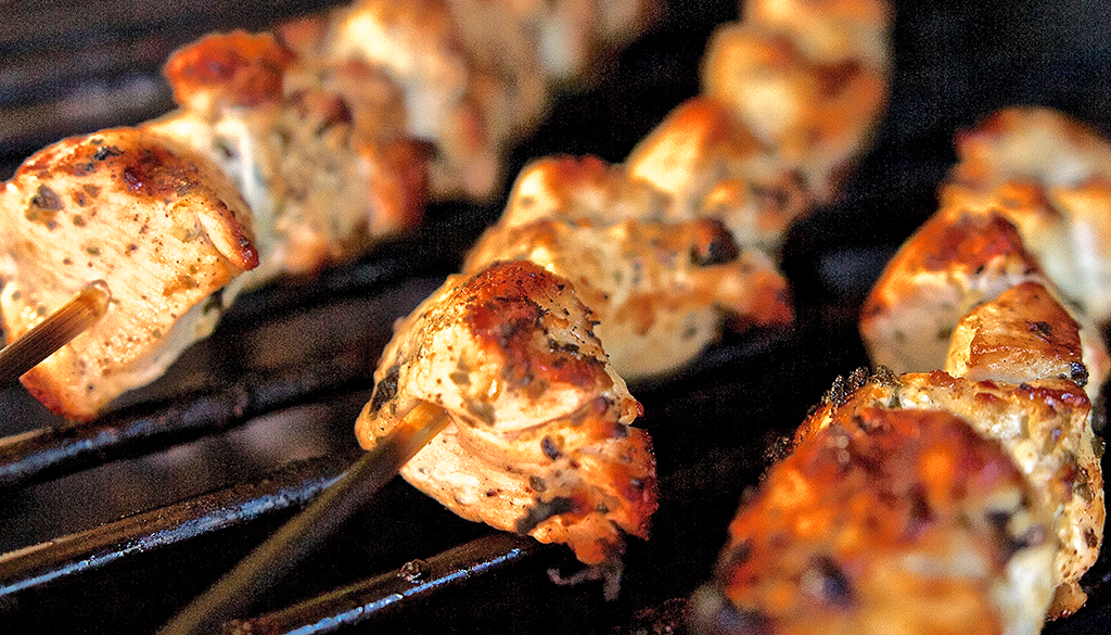 Scott's Chicken Kabobs