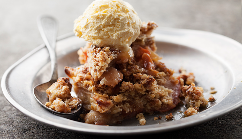 Nova Scotia Autumn Apple Crisp