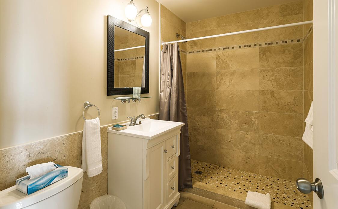 Rhubarb Guest Room 5 Washroom
